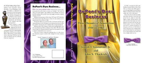 Dust Jacket Dupont Dyes