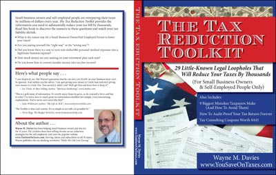 Cover Tax Reduction Toolkit