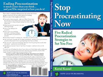Cover Stop Procrastinating